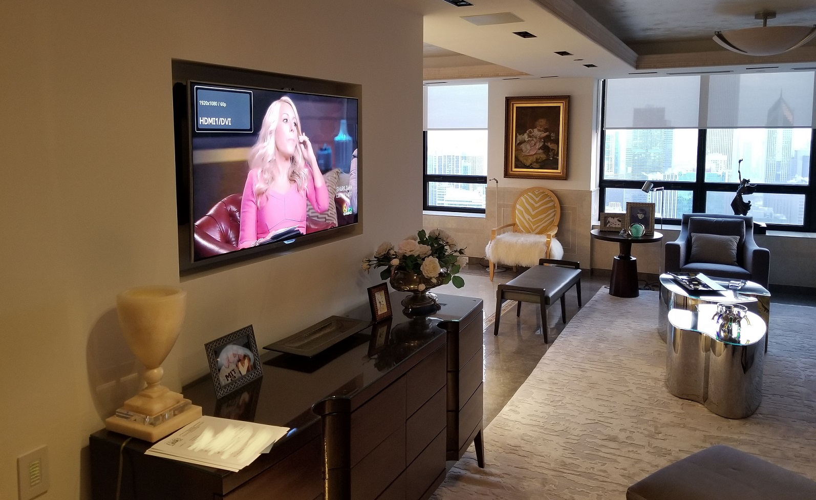 Video Over IP with Tivo and Elan used for Watertwoer Place condominium upgrade